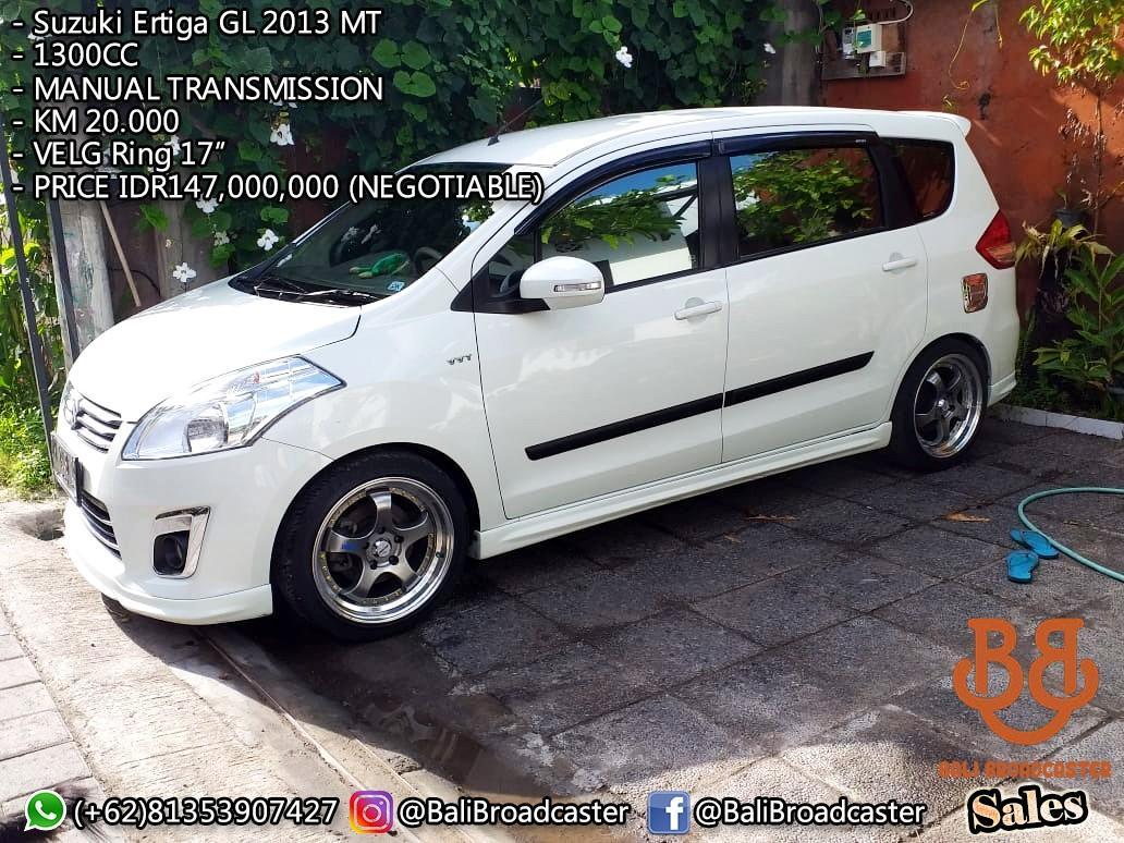 Suzuki Ertiga 2013 GL Manual Transmition 20.000KM Bali