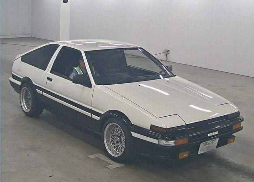 TOYOTA AE86 1986價錢面議(另有bid車、水貨車、中港牌、租車服務、大量現貨  、古董車等)
