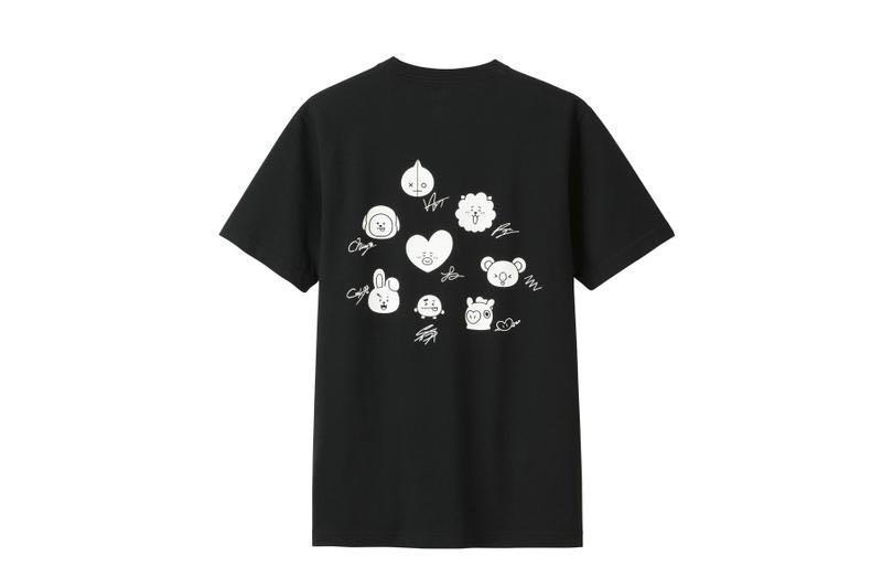 Uniqlo X BT21 tee shirt