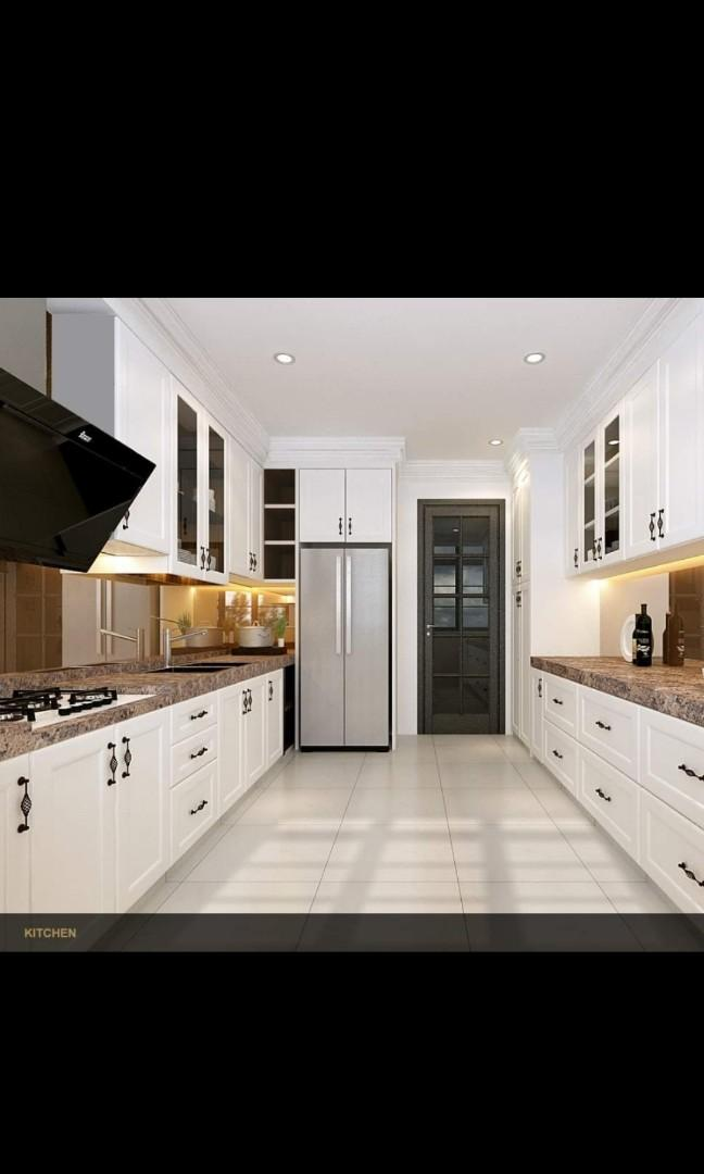 《KITCHEN CABINET PACKAGE TAKE A LOOK AT BELOW ITEMS》