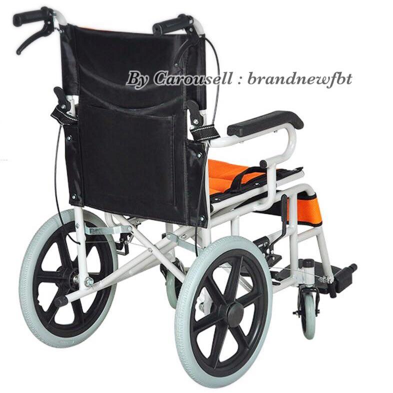 Wheelchair lightweight foldable + Exchange 1 pc BICENTENNIAL note $20 with folder (optional)