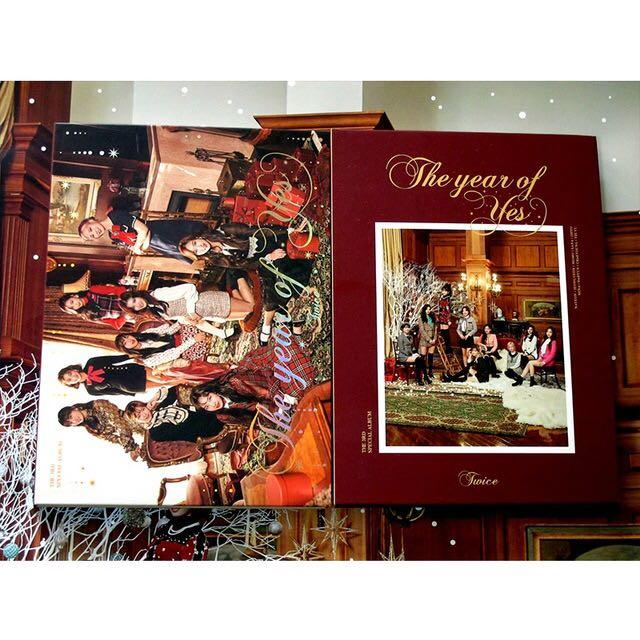 (WTB) TWICE ALBUM THE YEAR OF YES A,B VERSION