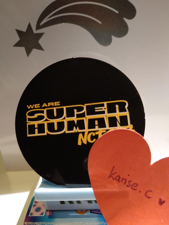 WTT NCT 127 We Are Superhuman - Taeyong Circle Card