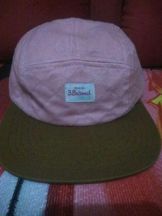 Topi Pink 3 Second