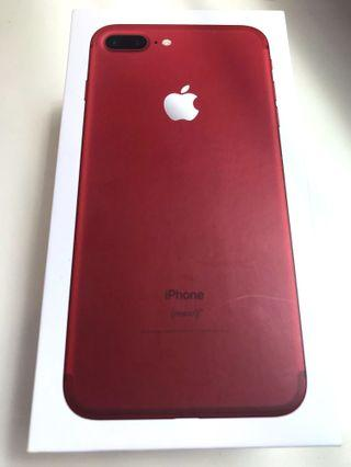 iPhone 7plus (Product) Red 256GB