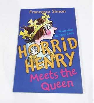 Buku Import Inggris: Horrid Henry Meets the Queen