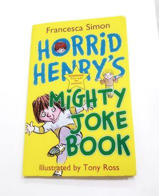 Buku Import Inggris: Horrid Henry's Mighty Joke Book