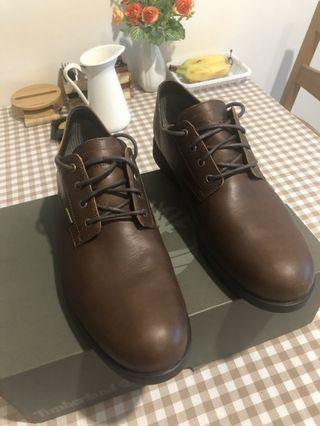 Timberland專櫃購入英倫風牛津鞋皮鞋男鞋深咖啡色歐碼45