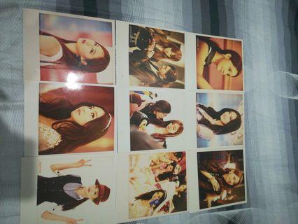 SNSD photo card(non-official)
