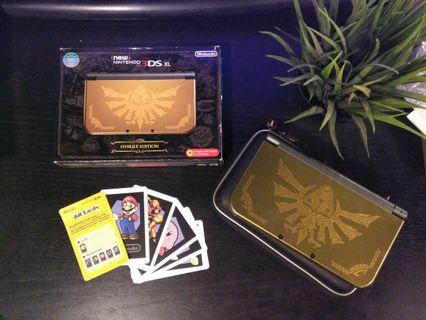 Nintendo N3ds XL zelda edition