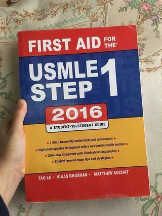 FIRST AID FOR THE USMLE STEP 1 2016 #junetogo