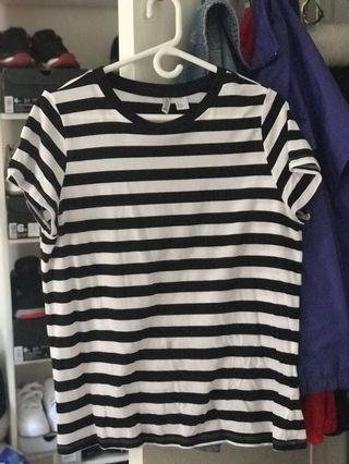 stripped t-shirt