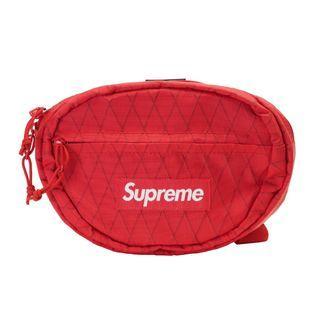 Supreme Red Waist Bag FW18