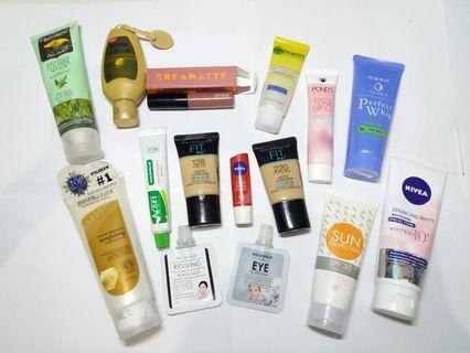 Skincare dan make up