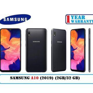 Samsung Galaxy A10 (2GB/32GB) Local set with 1 Year Warranty