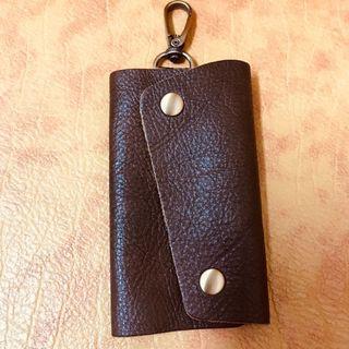 🚚 手工皮革鑰匙包🔑