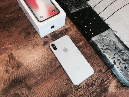 IPHONE X 256GB SILVER OFFICIAL