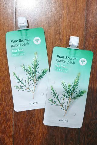 MISSHA Pure Source Pocket Mask Tea Tree