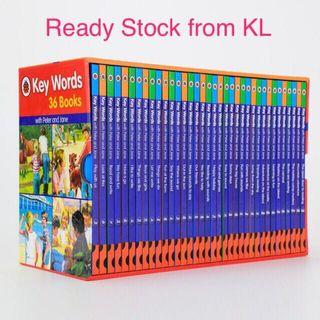 50% off‼️ 100% original‼️Free Shipping‼️UK Key Words with Peter and Jane 36 books set