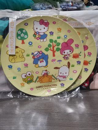 Sanrio Characters plate