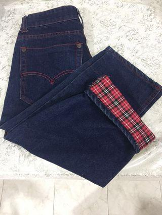 🚚 Cropped Jeans trousers