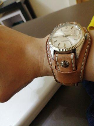 牛皮DIY手作錶带