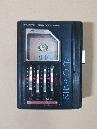 Sanyo Stereo Cassette Player (MGP 600D)