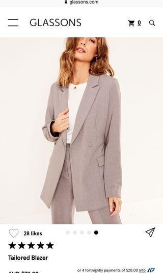 Glassons grey blazer 6