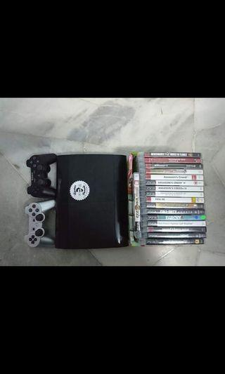Used ps3 superslim 500GB