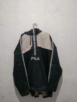 Jaket fila waterproof