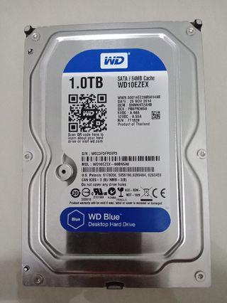 WD 1TB HDD