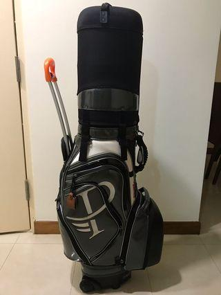 Porterline hard case travel Golf bag