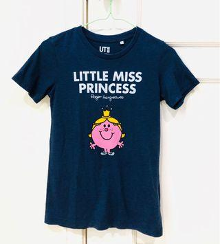 Uniqlo Little Miss Princess t-shirt