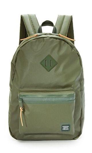 🚚 Herschel Ruskin Green Backbag
