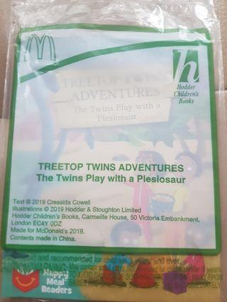 🚚 Treetop Twins Adventues The Twins Play with a Plesiosaur