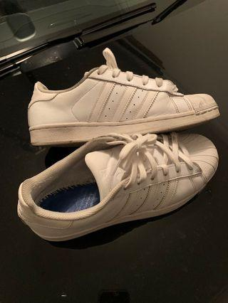 Adidas original superstar all white