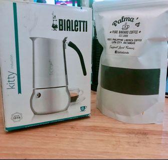Bialetti Espresso Maker with new strainer (Complete)