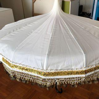 古典金錢太阳傘
