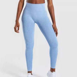 Gymshark inspired unbranded seamless leggings SIZE XSMALL