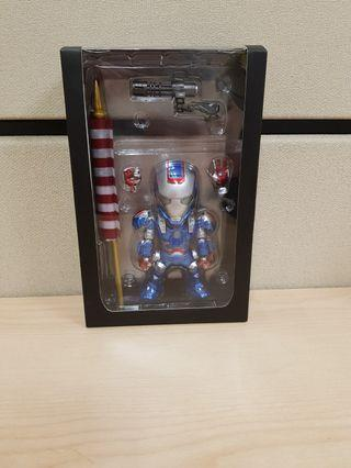 15cm Avengers Ironman War Machine with LED Light and voice control.