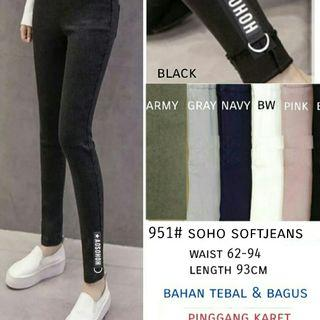 951# Soho Softjeans 129000 Pinggang karet