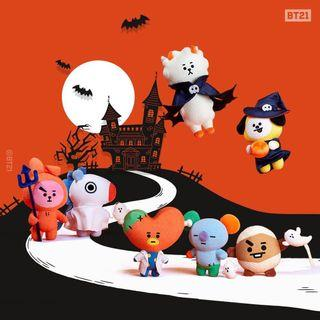 OFFIClAL BT21 HALLOWEEN DOLL