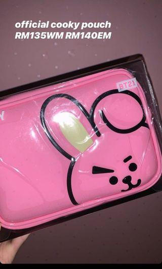 OFFICIAL BT21 COOKY POUCH