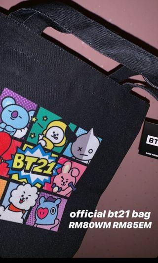 OFFICIAL BT21 BAG
