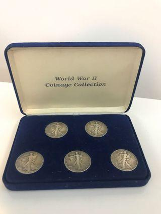 World War II Coinage Collection