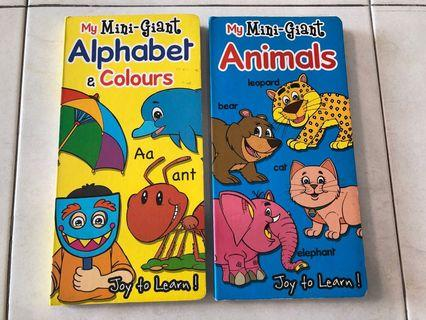 Children books Alphabet & Animals