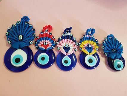 Turkey blue eye