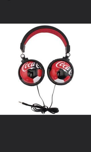 🚚 Coca cola headphone