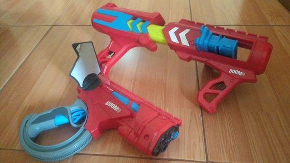 Nerf Gun Boom&Co 2pcs pistol & senapan