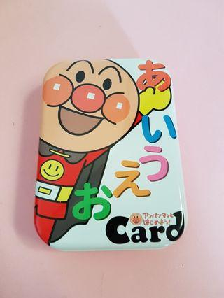 Japanese language learning cards for kids